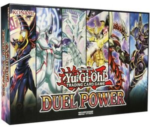 Yugioh Duel Power Box Brand New Factory Sealed