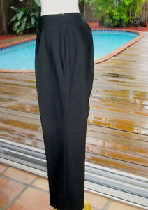 Akris Pant Blk Slacks Wsharp Crease Down The Front 12 44 Ebay