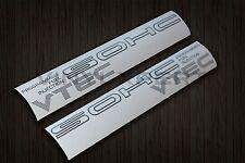 88-91 civic EF8 EF9 SOHC VTEC DECAL civic crx b16a d15b si zc hatchback coupe