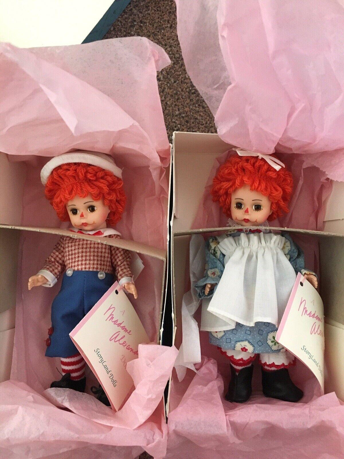 Madame Alexander Mop Top Wendy 140484 & Mop Top Billy 140485 con etiquetas y cajas