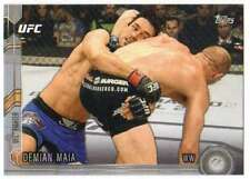 2015 Topps UFC Chronicles Silver Parallel #57 Demian Maia