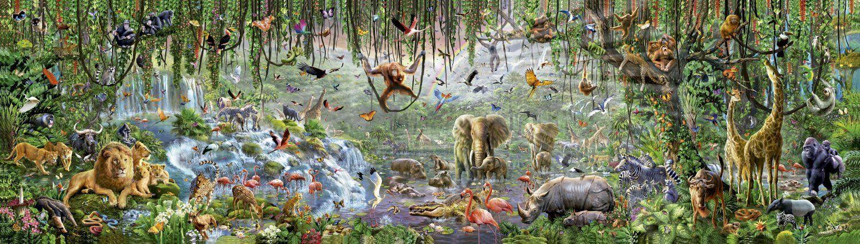 Educa Borrás - Vida Wild, puzzle of 33600 pieces (16066)