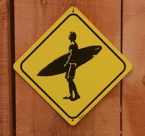 Surfer xing