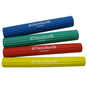 Brand-New-Thera-Band-Exercise-FlexBar-Blue-Green-Red-Yellow-Freeeeee-Shipping
