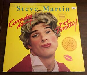 Steve-Martin-Comedy-Is-Not-Pretty-LP-Vinyl-Warner-Bros-Poster-Promo-Record-Vinyl