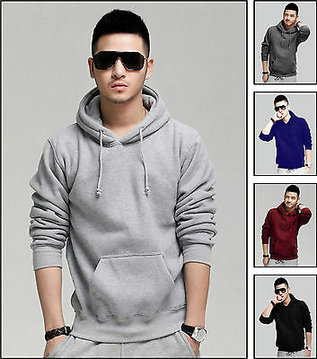Akaira Men's Winter Brushed Fleece Hoodie 300 GSM