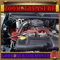 Black Red 1997-2003 Dodge Dakota/durango 3.9l V6 5.2/5.9l V8 Air Intake Kit