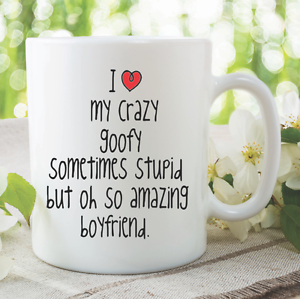 Image Is Loading Novelty Funny Mug I Love My Boyfriend Birthday
