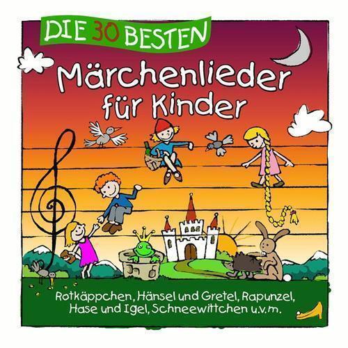 DIE 30 BESTEN MÄRCHENLIEDER FÜR KINDER   CD  NEU/OVP!