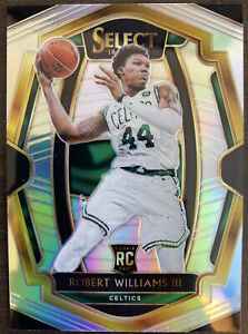 2018-19 Panini Select Robert Williams III Premier Level Silver Prizm RC Celtics!