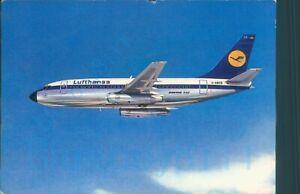 Lufthansa Boeing 737 City Jet DABCE Posted printed postcard