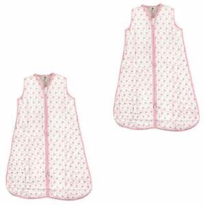 Foxes Hudson Baby Boy Safe Sleep Wearable Muslin Sleeping Bag 2-Pack