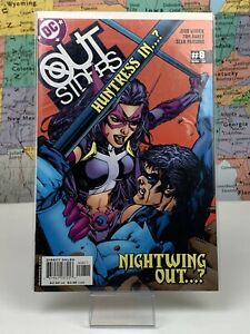 SHIPS-SAME-DAY-Outsiders-Huntress-In-Nightwing-Out-2003-Series-8-DC-Comics-VF