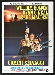 Manifesto-Uomini-Salvajes-William-Holden-Karl-Malden-Wild-Rovers-M67