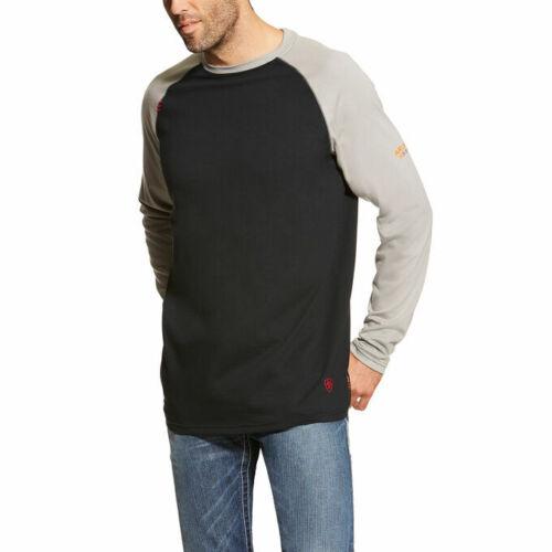 Ariat Men/'s Baseball HRC2 Long Sleeve FR Work Shirt 10018438