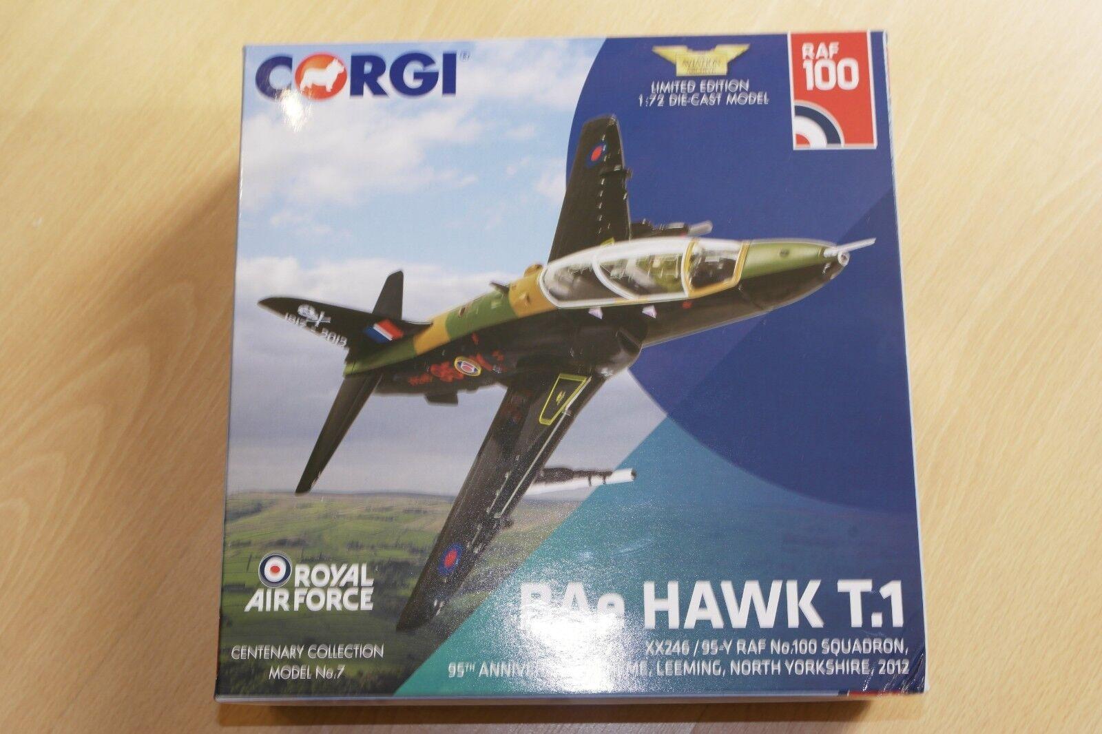 Corgi Aviation 1 1 1 72 BAE Hawk T.1 XX246 95-Y RAF No.100 Sqn Leeming d0978c