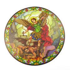 St. Michael Atrapasol Vidriera Pegatina para Ventanas Reutilizable 15.2cm
