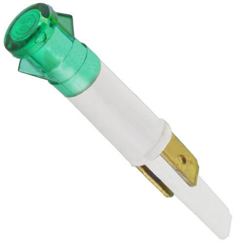 Universel vert pour Four Cuisinière LAMPE NEON INDICATEUR AMPOULE 9 mm 230 V 2 Tag