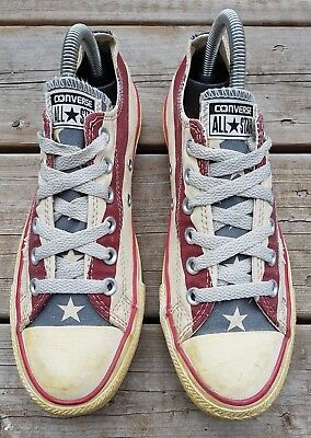 Converse CT All Star Americana Buey Grunge Look Bandera