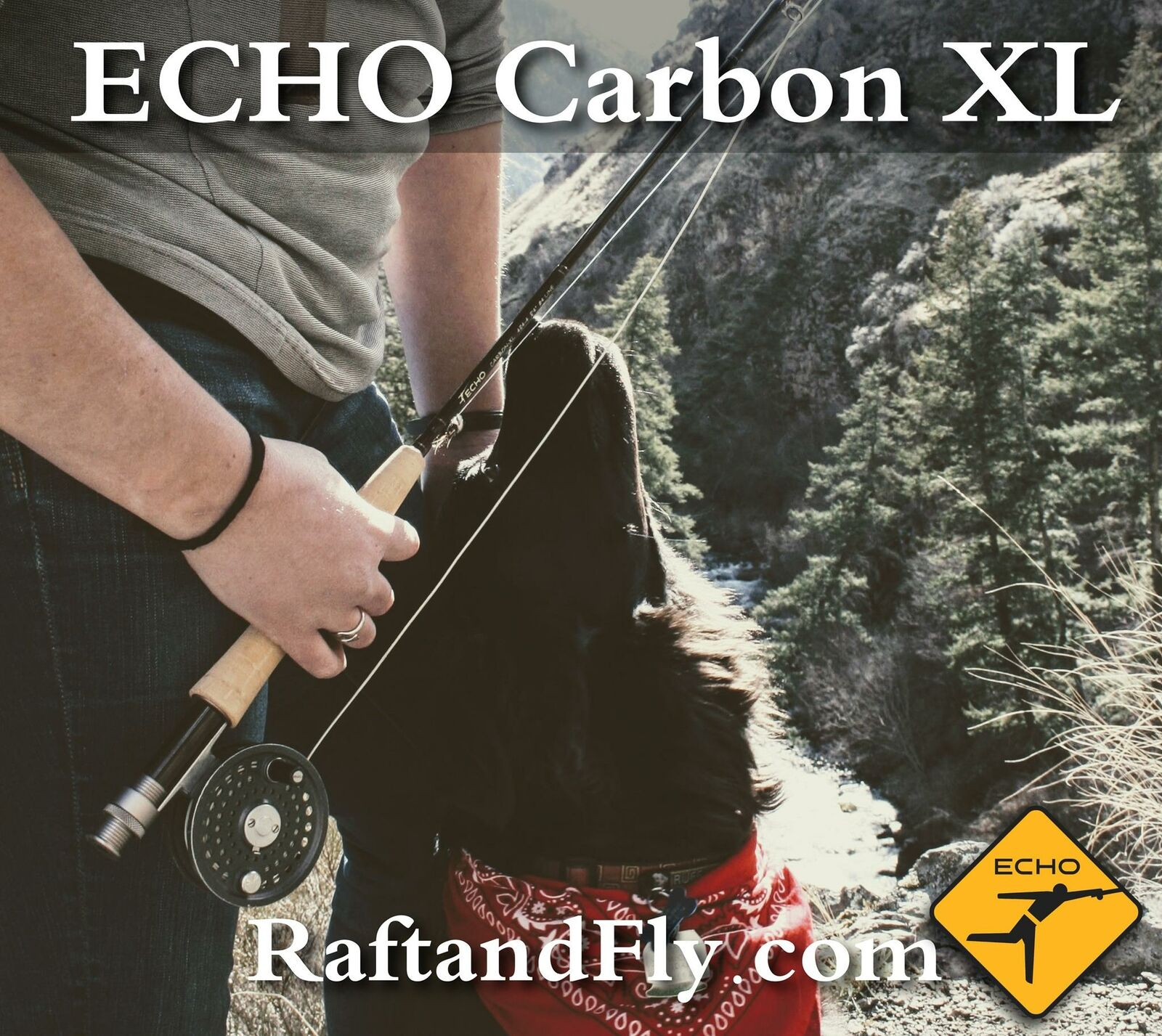 Echo Carbon XL 3wt 7'6  Fly Rod - Lifetime Warranty - Free Shipping