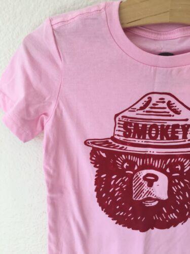 Gymboree Girls Pink Smokey The Bear Tee *Size M * 7-8