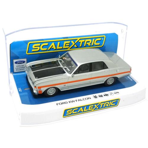 Scalextric C4037 Ford XW Falcon Silver Fox 1//32 Slot Car