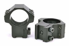 "1"" Medium Scope Rings w/ Stop Pin 4 High Power Magnum Airgun Air Rifle 11mm Base"