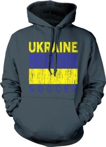 Ukraine Flag Soccer Ukrayina Ukrainian Pride Prapor Hordist Hoodie Pullover