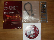 ASUS REPUBLIC OF GAMERS, Maximus IV Extreme, User Guide, Handbuch with driver CD