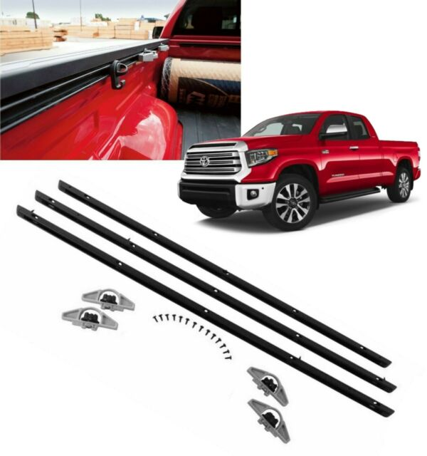 2007-2021 Tundra Deck Rail System Bed Rail 6.5 FT BED Genuine Toyota PT278-34072