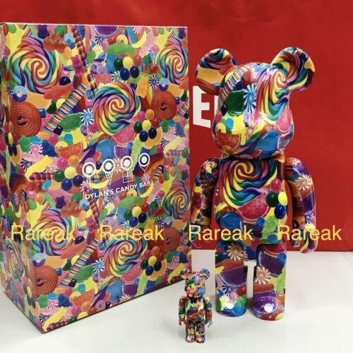 Medicom Be@rbrick Dylan's Candy Bar 400/% 100/% bearbrick Sweet Escape boxset 2p