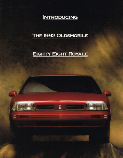 92 1992 Oldsmobile Eighty Eight/88 owners manual Car & Truck ...