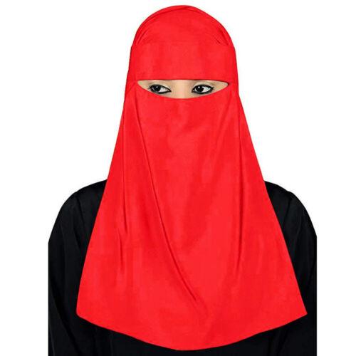 One Piece Niqab Muslim Hijab Veil Headwear Burqa Burka Nikab Islamic Ramadon