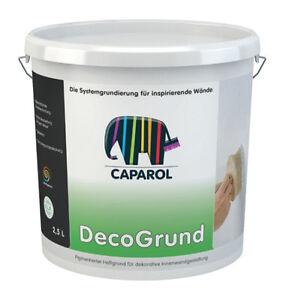 Das Bild Wird Geladen Caparol DecoGrund 2 5 Liter Weiss Fuer Nach