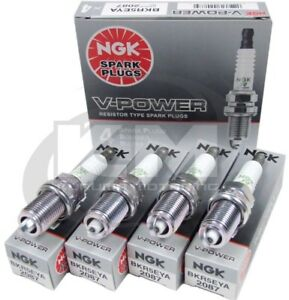 SET-OF-4-NGK-2087-BKR5EYA-V-POWER-PREMIUM-SPARK-PLUGS-MADE-IN-JAPAN