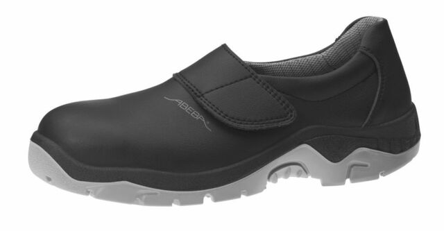 ABEBA Sicherheitsschuhe anatom S2 Slipper schwarz 2135 Arbeitsschuhe Schuhe