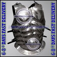 Roman Muscle Body Armour Chest-plate Breastplate Spartan Armour Cuirass Costume