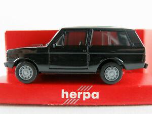 Herpa-2016-Range-Rover-Classic-1970-1985-in-nero-1-87-h0-Nuovo-Scatola-Originale