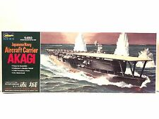 Hasegawa 1:450 Scale Japanese Aircraft Carrier Akagi Plastic Model Kit Motorized