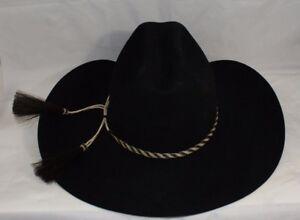 bfa06ac4a19 Image is loading Tuff-Hedeman-Signature-Series-Milano-Black-Felt-Cowboy-