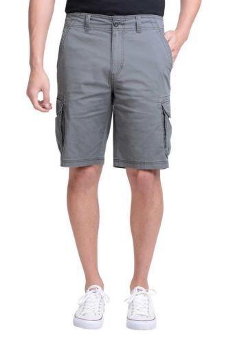 7db2f485cf Buy UNIONBAY Men's Montego Cargo Flex Waist Shorts Black Camo Size 34  online | eBay