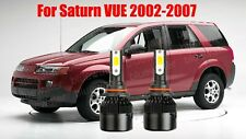 Led For Saturn Vue 2002 2007 Headlight Kit 9006 Hb4 6000k Cree Bulbs Low Beam