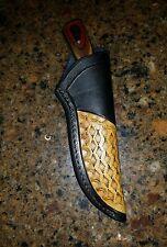 Custom Leather Sheath for S110 Chief Yellowhorse Skinner (Premium Knife Supply)