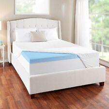 novaform 3 evencor gelplus gel memory foam mattress topper with cooling cover
