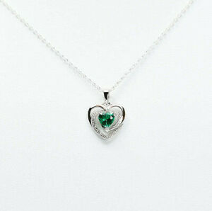 Emerald-Green-CZ-Open-Heart-Pendant-925-Sterling-Silver-May-Birthstone-Necklace