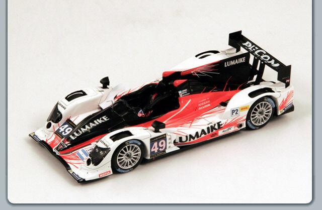 Spark S3765 - Oreca 03-Nissan,  No.49 Le Mans 2013 Kaffer - N. Minassian  1 43  design unique