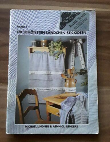 """Rico Design Stickheft /""""Die schönsten Bändchen Stickideen/"""" Kreuzstich Band 1"""