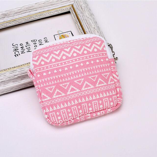 Women Girl Sanitary Napkin Case/Bag Pad Organizer Holder Napkin Towel Bags
