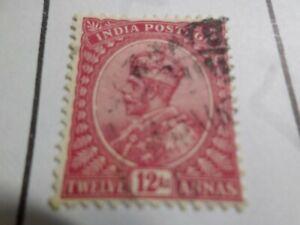MéThodique Inde Anglaise, Timbre Classique 120 Oblitéré, Cachet Rond, Vf Used Stamp