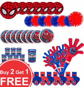Buy 2 Get 1 FREE Spider Man Party Favors /& Toys